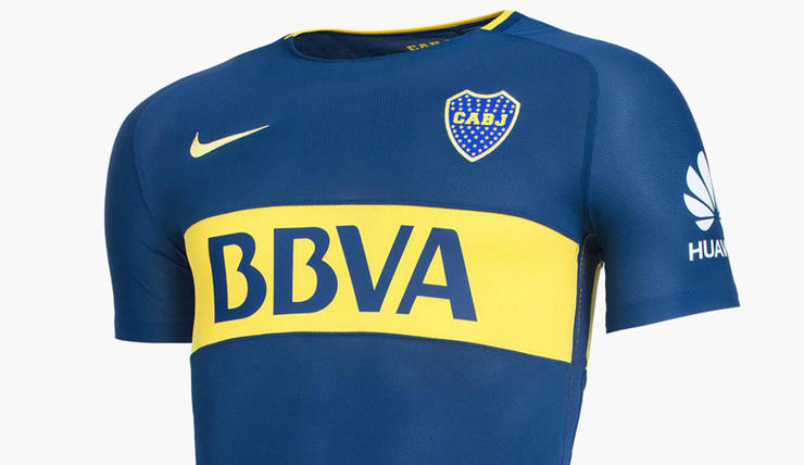 Camiseta de Boca (titular)