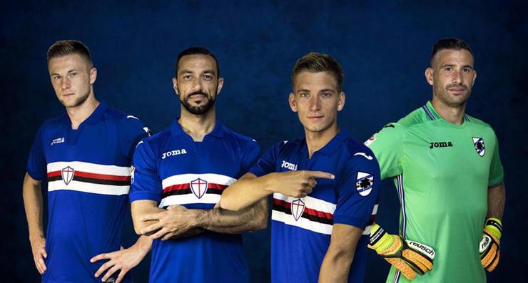 Camiseta de Sampdoria (titular)