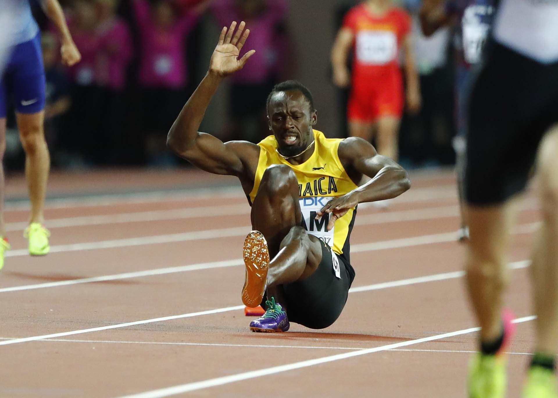 Bolt había sido parte del equipo que corrió en la clasificación