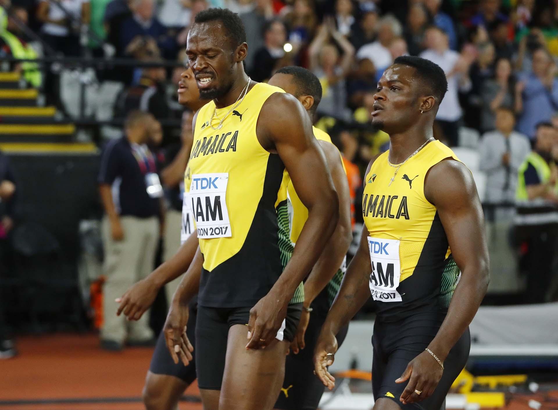 En la clasificación, Jamaica había hecho un tiempo de 37,95 segundos