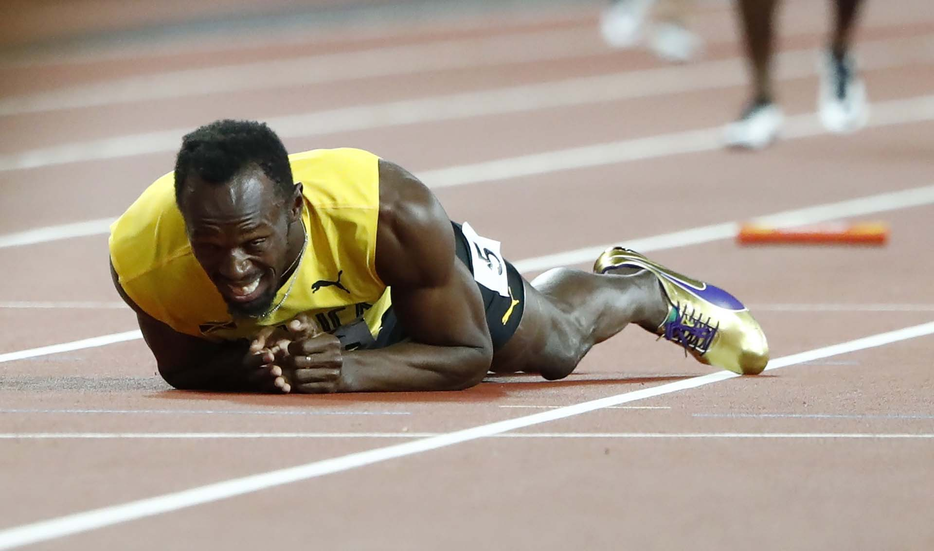 El dolor del atleta jamaiquino, que conquistó 19 medallas de oro en su carrera