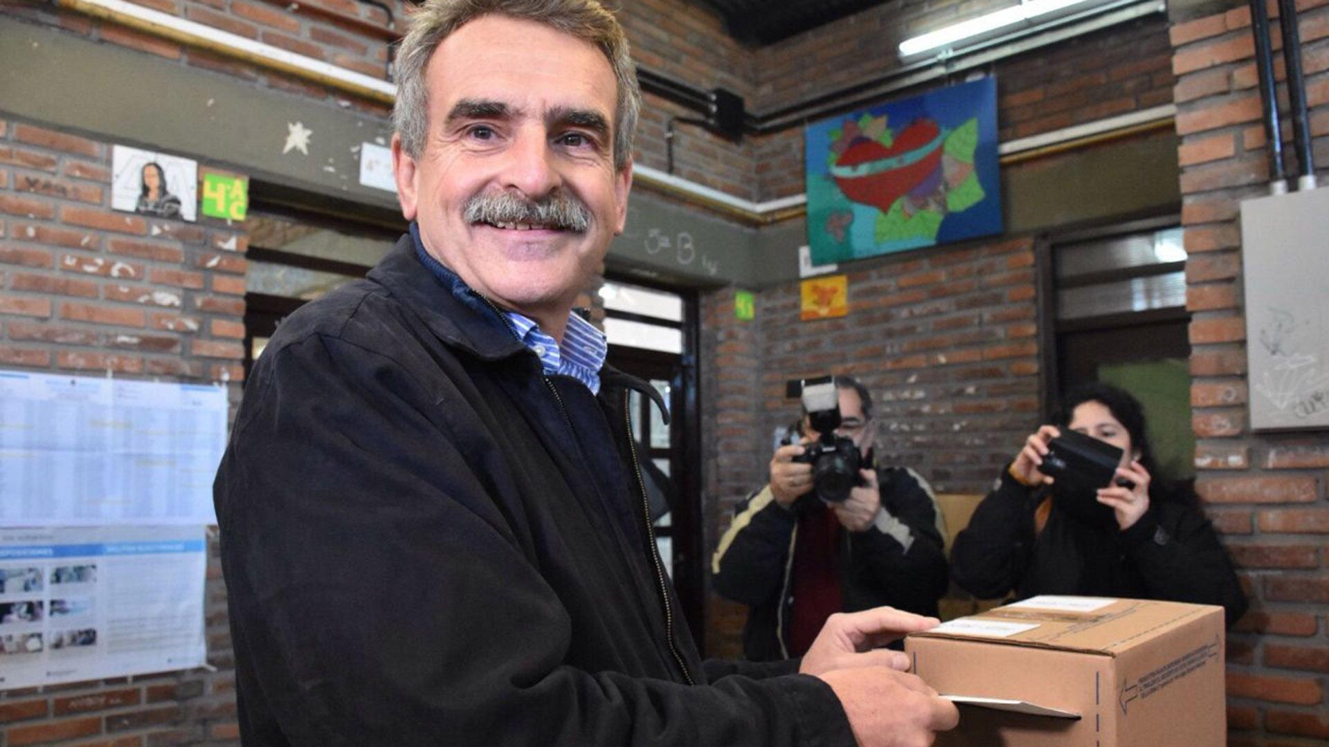 Agustín Rossi, precandidato a diputado nacional por el Justicialismo santafesino