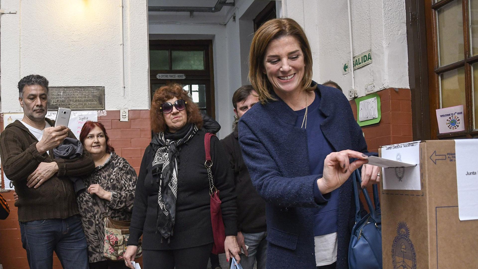 La Precandidata por Evolución Débora Pérez Volpin