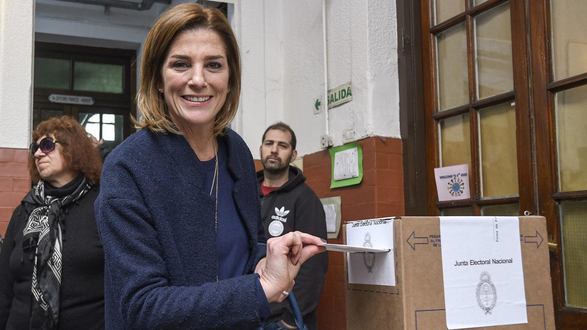 Pérez Volpin había sido elegida en 2017 fue elegida para la legislatura por la Ciudad de Buenos Aires por el frente Evolución