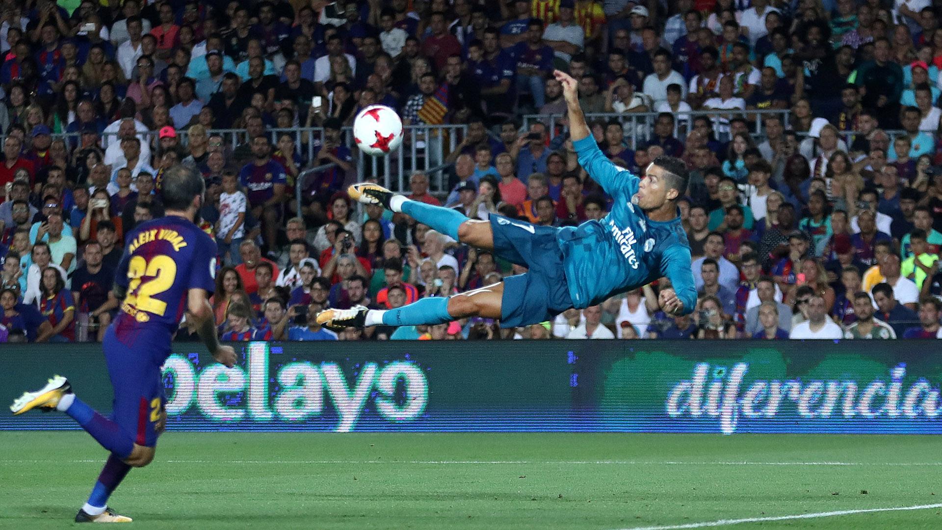 Cristiano Ronaldo entró en el segundo tiempo y cambió el partido