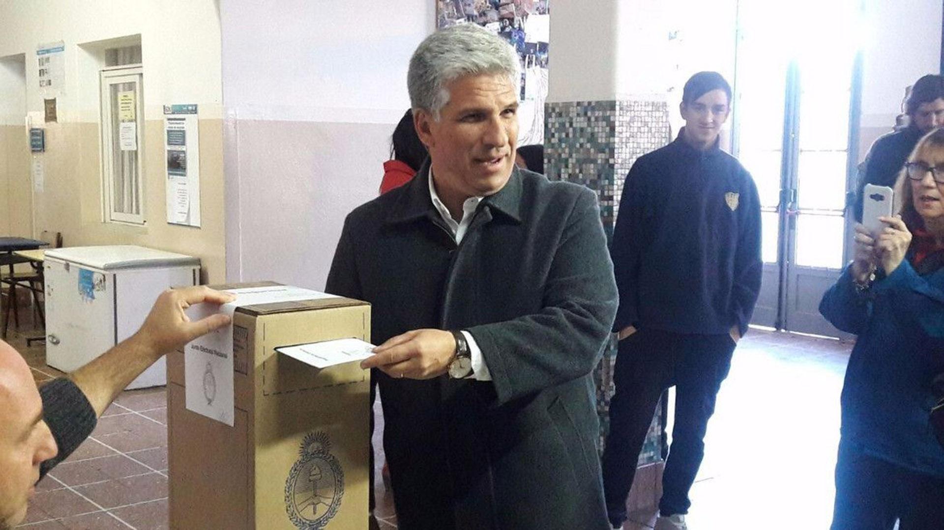 Claudio Poggi es el gran ganador en San Luis