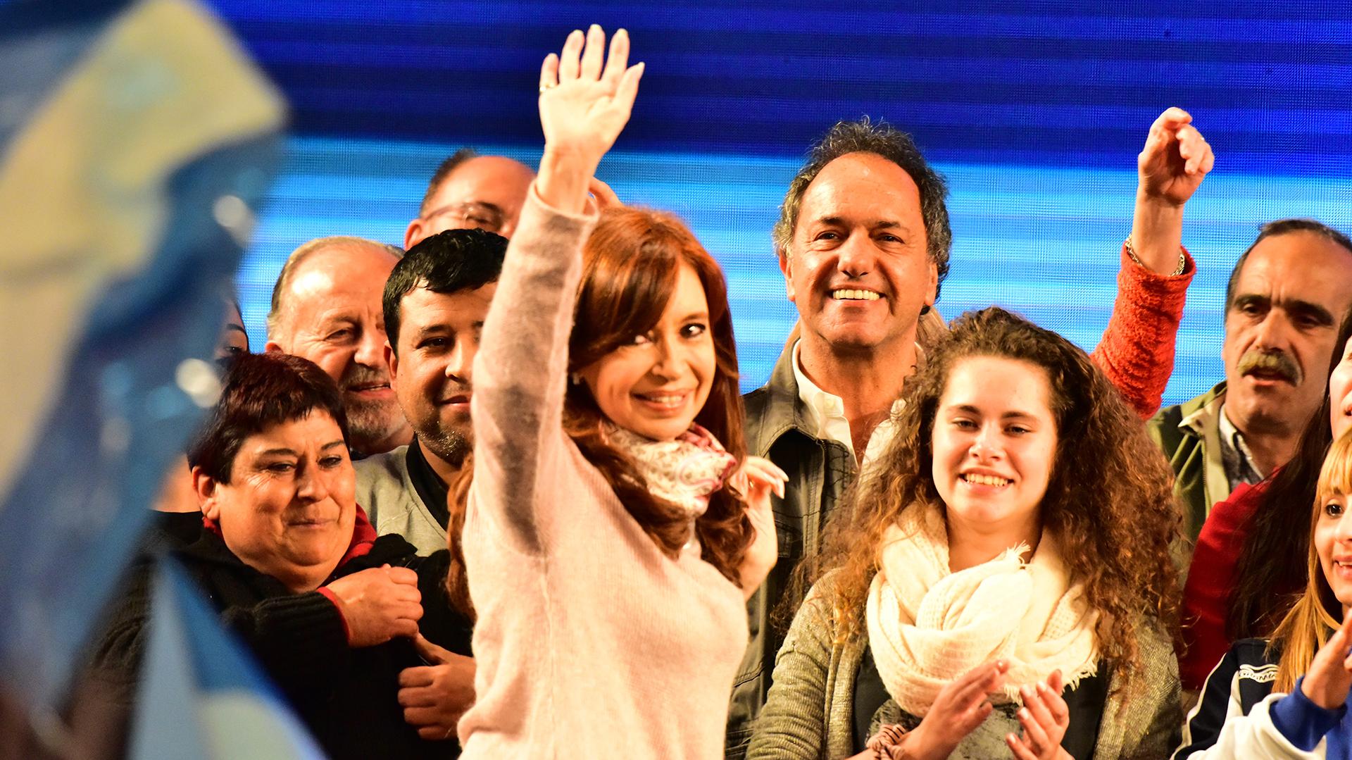 Cristina Kirchner salió a la caza de votos para intentar ganar la elección de octubre (Amilcar Orfali)