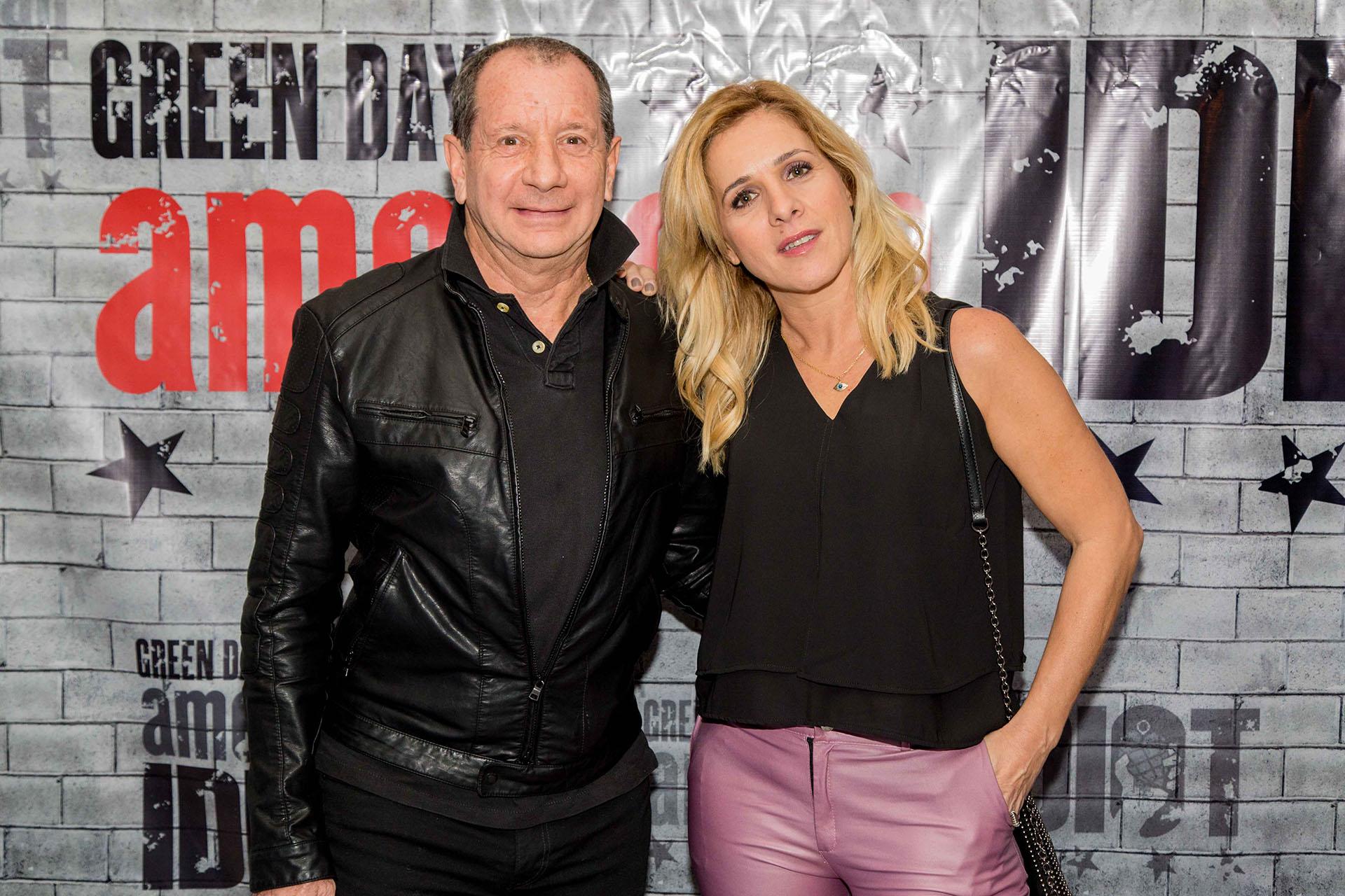 Carlos Mentasti y Viviana Puerta