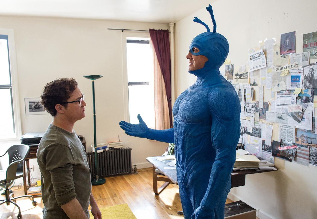 """El actor Peter Serafinowicz hizo su debut en Hollywood en la cinta """"Muertos de risa""""."""
