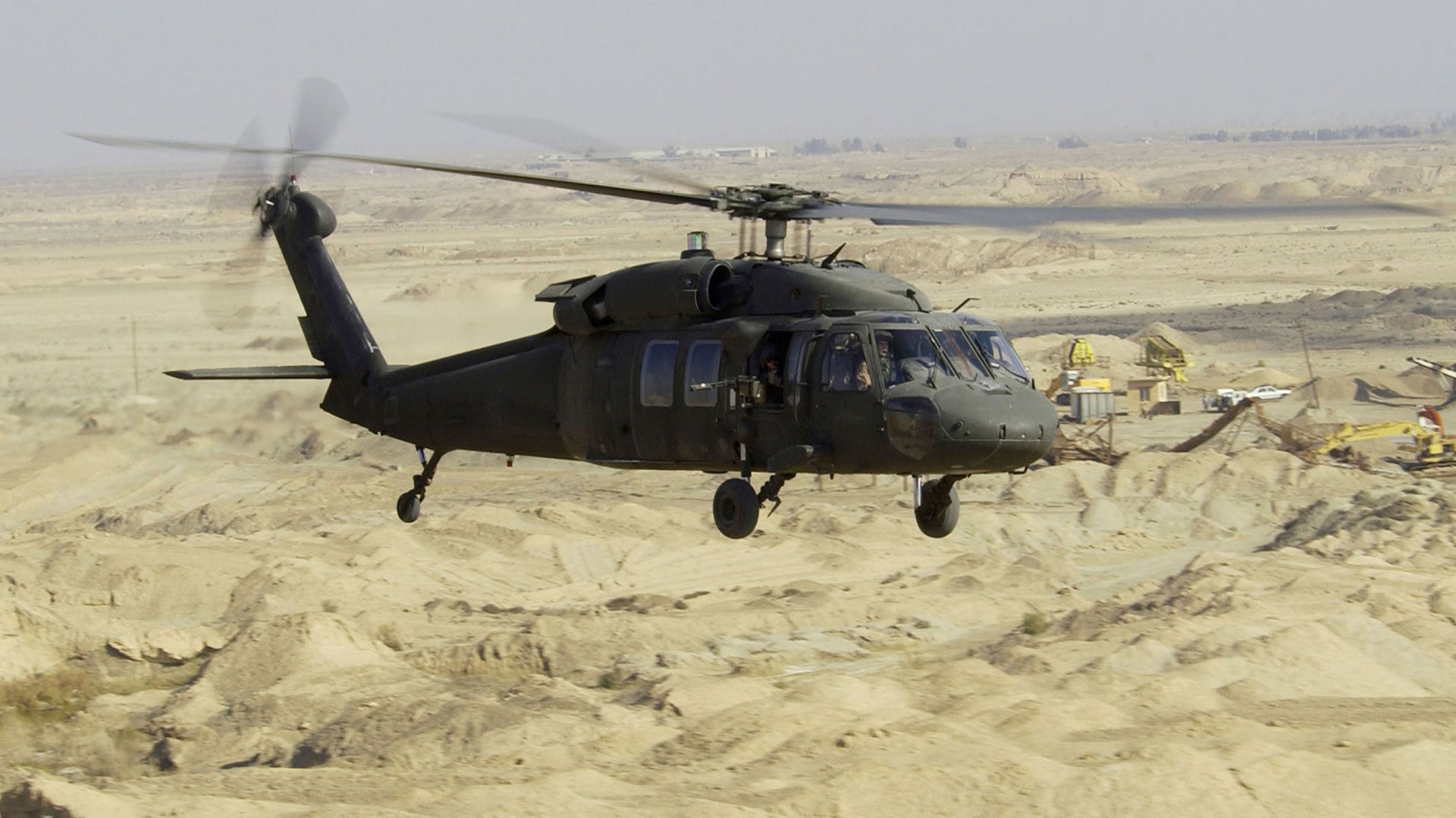 Un Sikorksy UH-60 Black Hawk