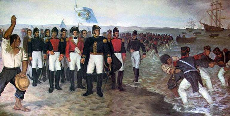Este 17 de agosto se conmemoraron 167 años de la muerte de José de San Martín