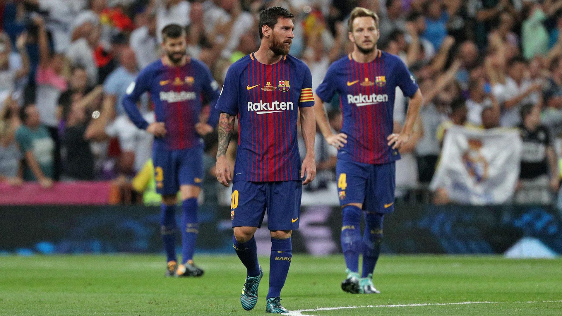 Lionel Messi, Ivan Rakitic y Gerard Piqué saben que la temporada no será sencilla