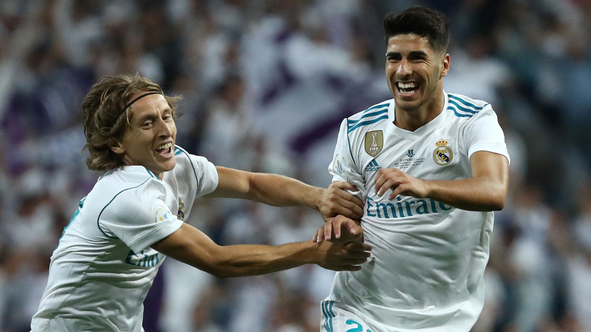 Real Madrid venció 2 a 0 al Barcelona y se consagró campeón de la Supercopa de España