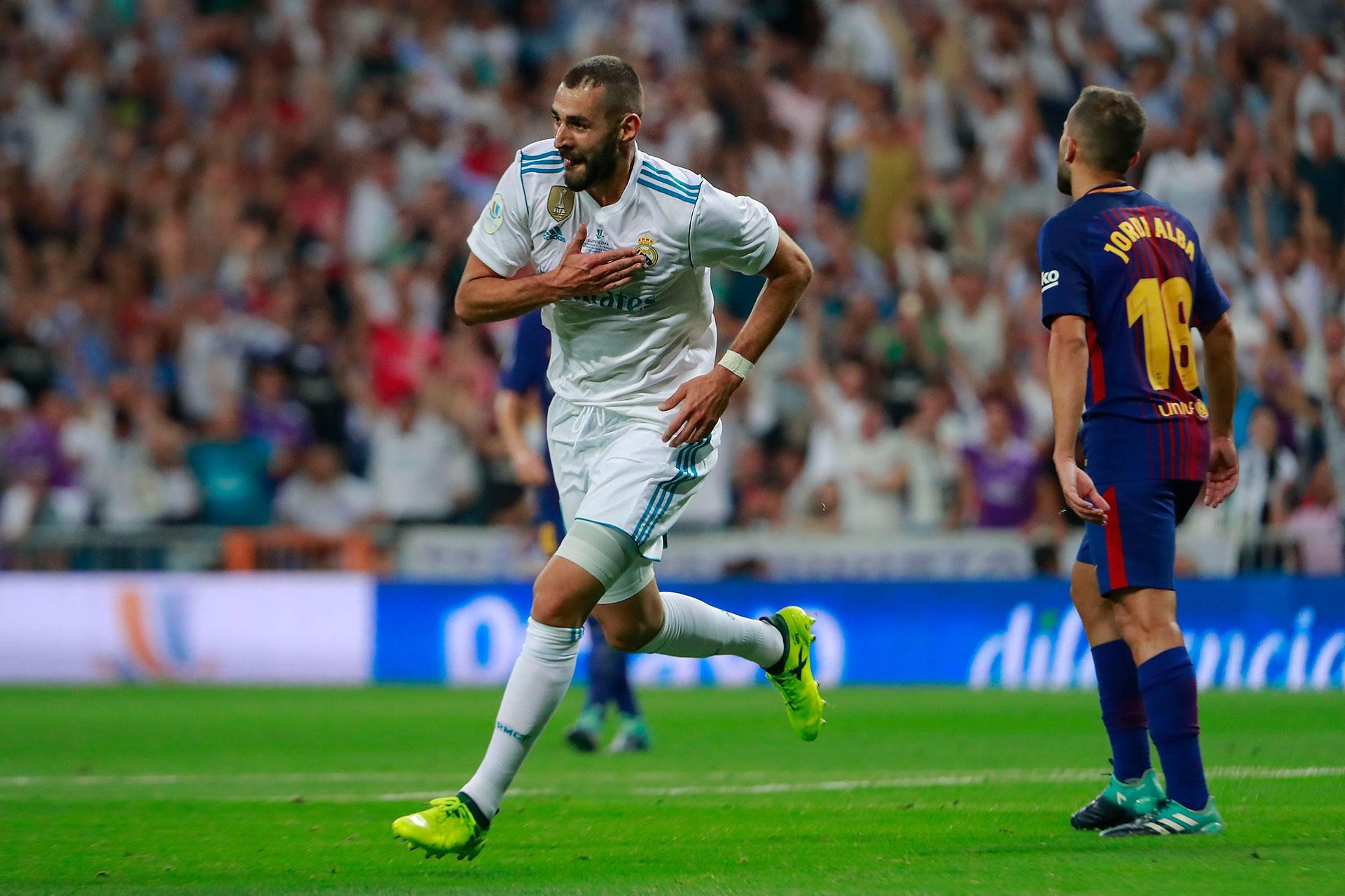 Karim Benzema puso el 2 a 0