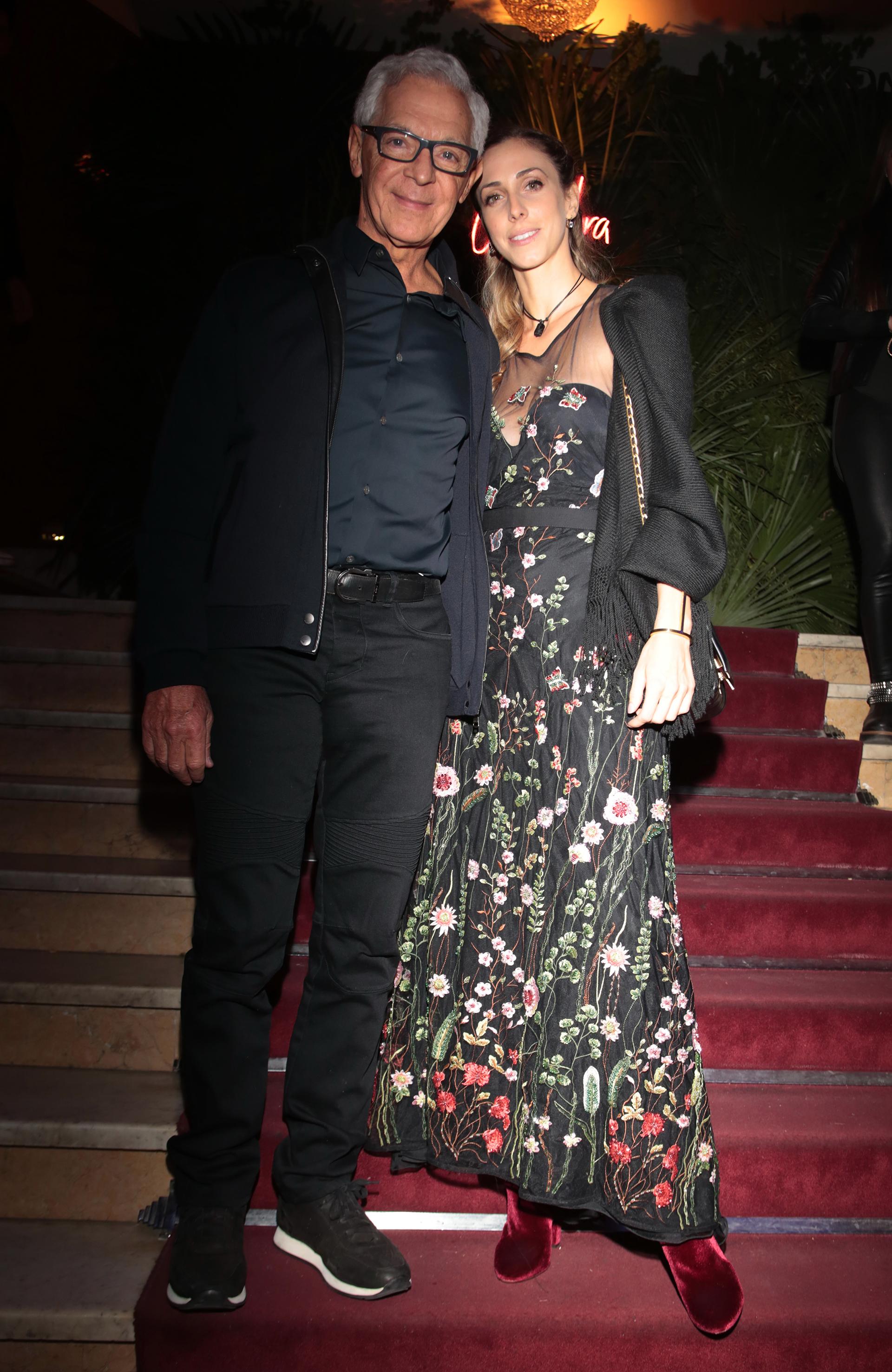 Eduardo Costantini y Lucía Radeljak