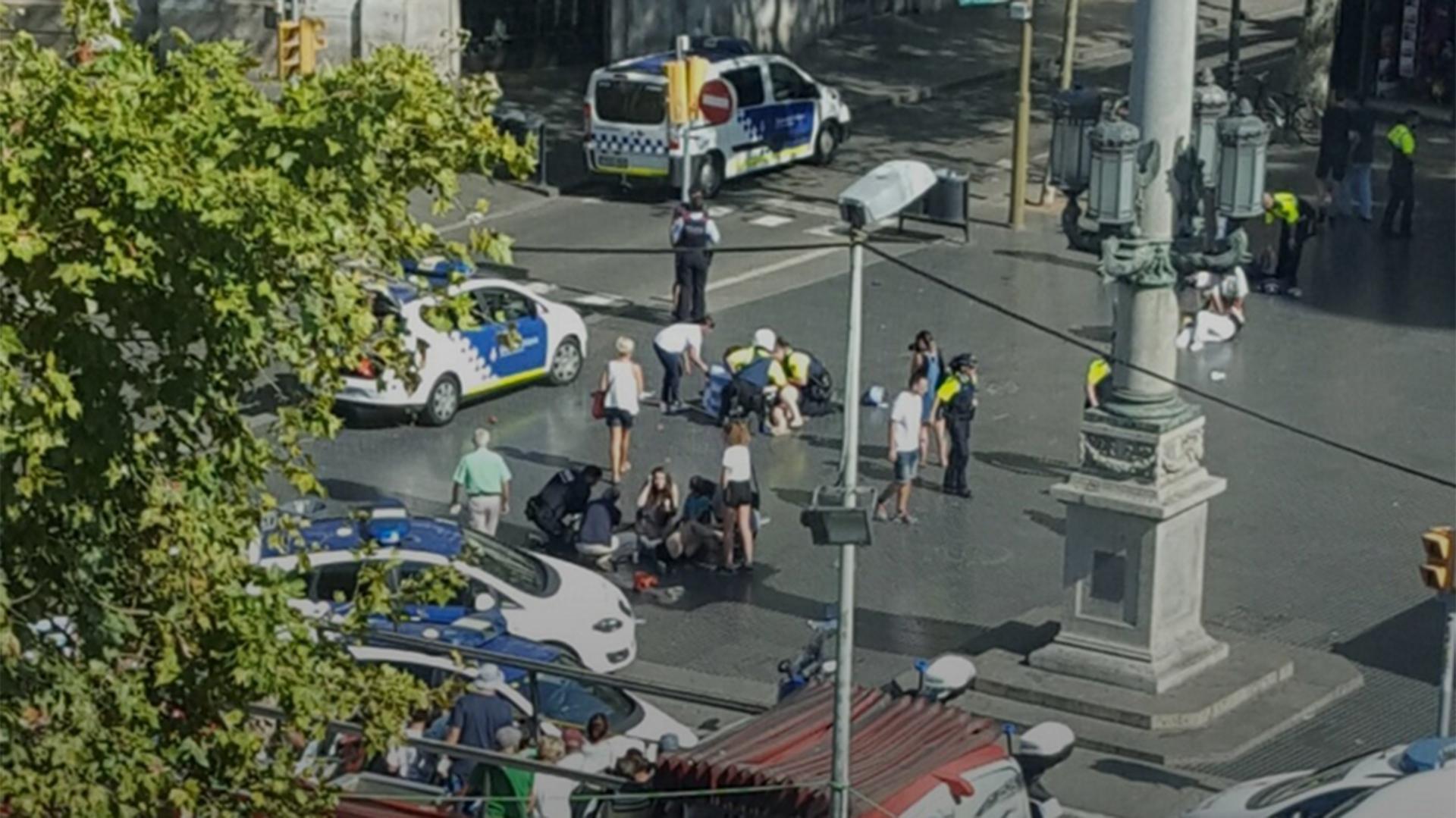 Se inició un operativo para intentar arrestar al atacante