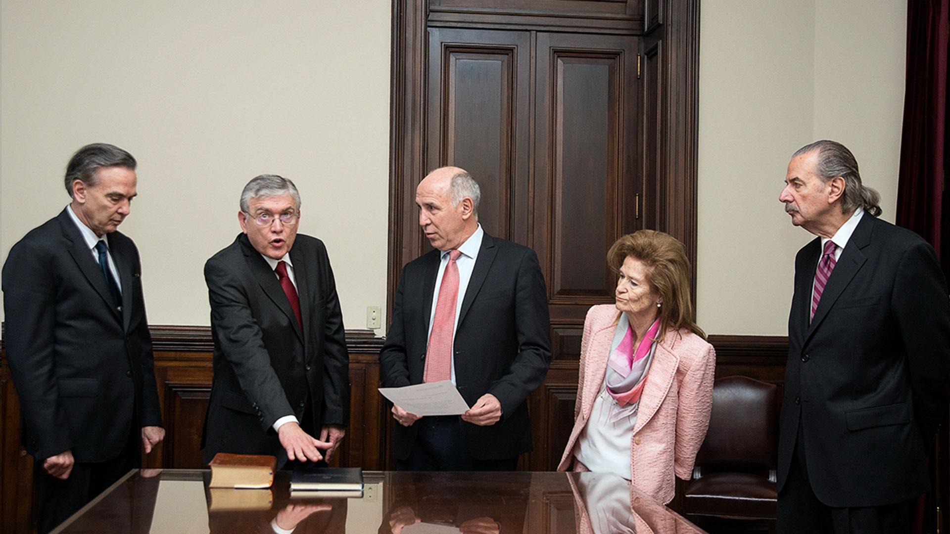 La Corte le tomó juramento al senador Mario Pais, el nuevo integrante del Consejo de la Magistratura