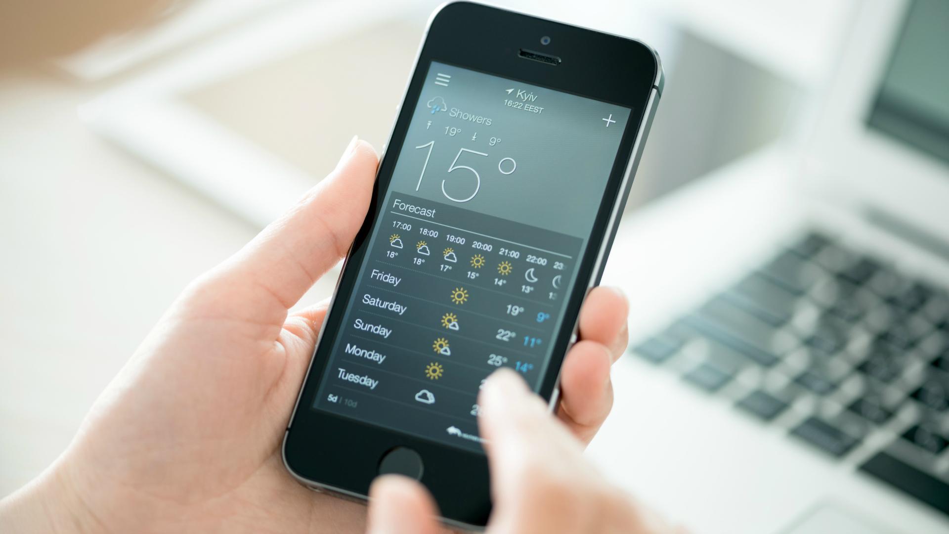 Aplicaciones para ver el clima en tiempo real. (iStock)