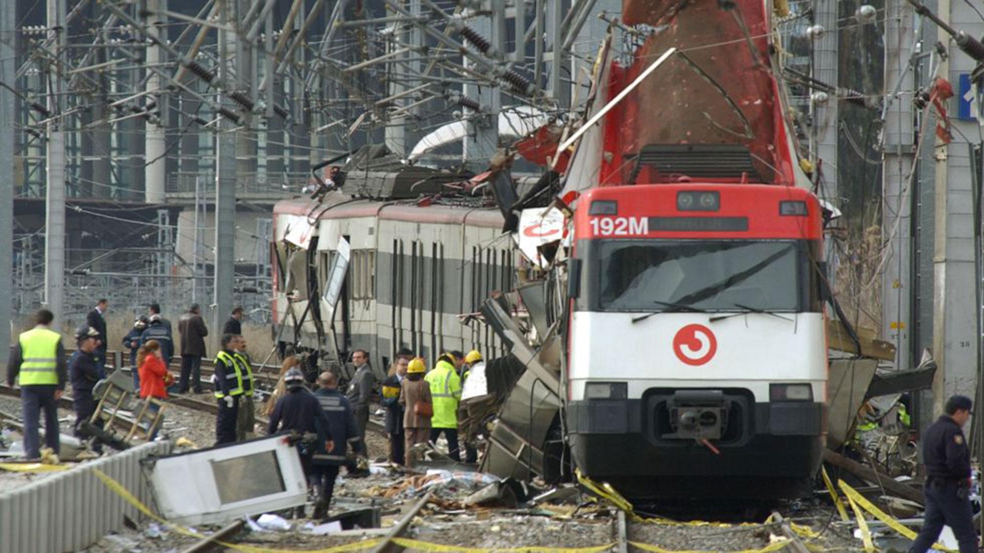 Imagen de archivo de los atentado de Atocha, en 2004 (AP)