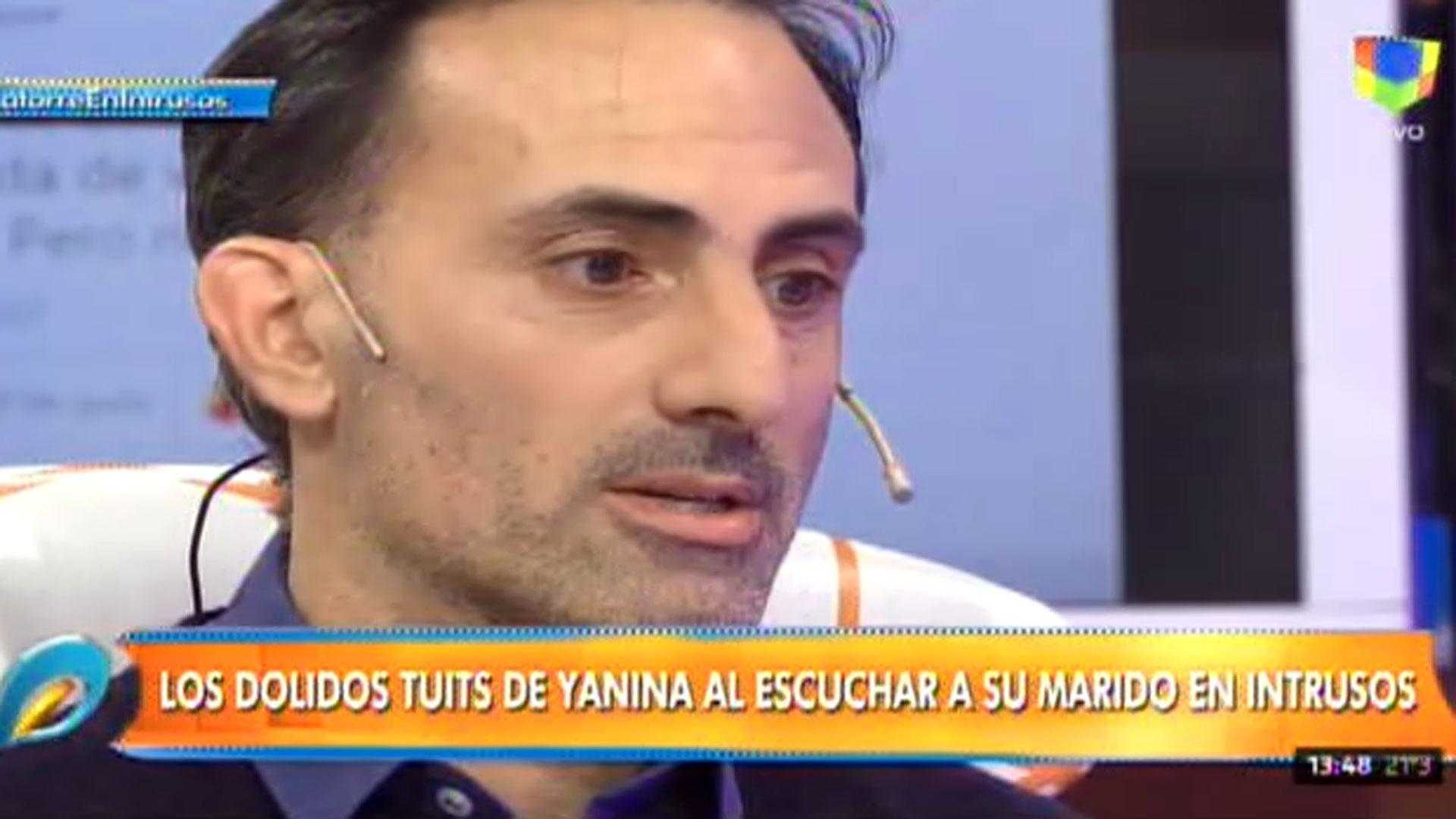 """Sigue la guerra entre Natacha Jaitt y Diego Latorre. Luego de que ella publicara nuevos audios, el periodista habló en """"Intrusos"""" : """"Siempre supe que era una infidelidad, algo temporal, un impulso"""""""