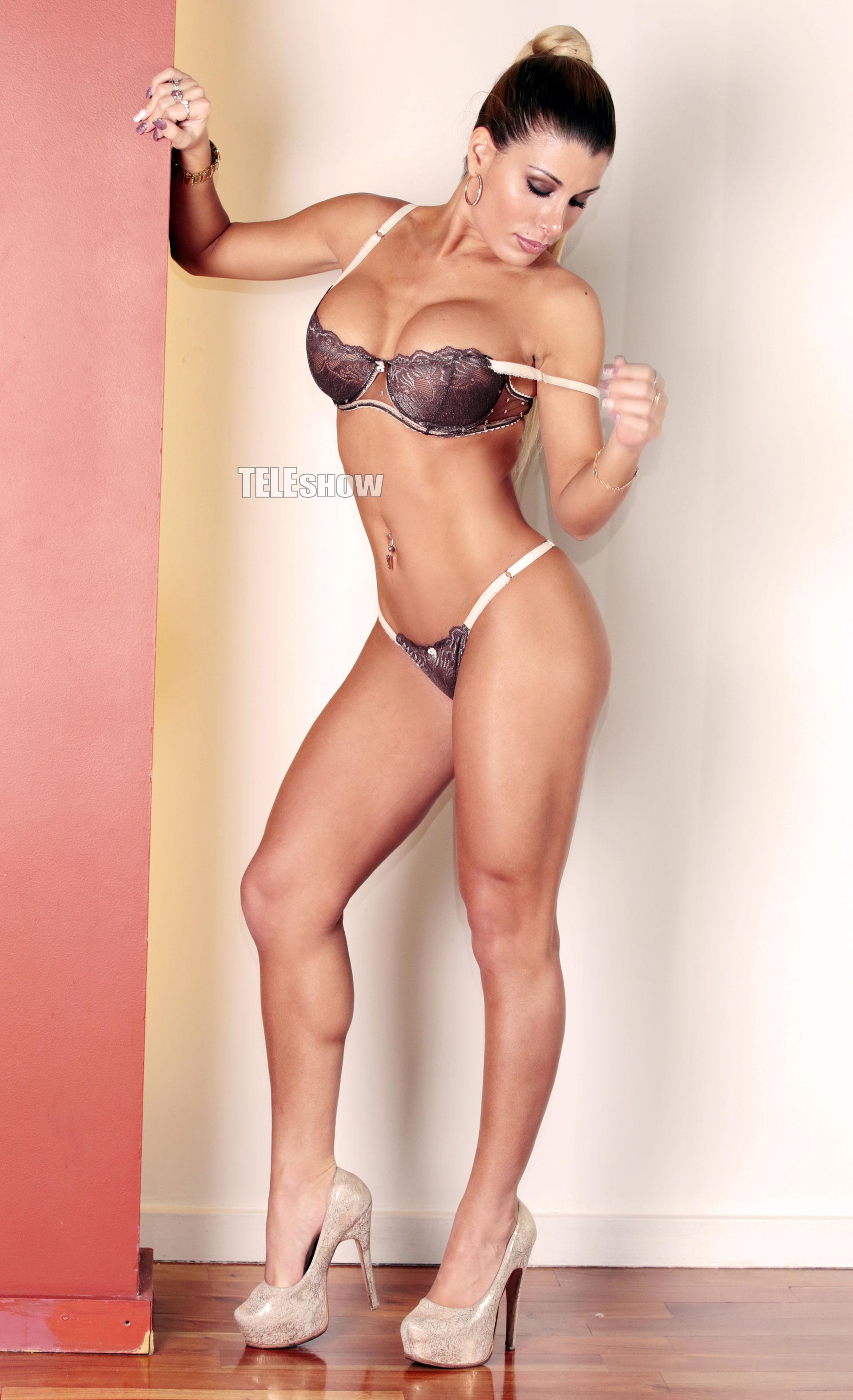 """Anabel Cherubito Hot la producción sexy de anabel zalazar: """"me gustan los hombres"""