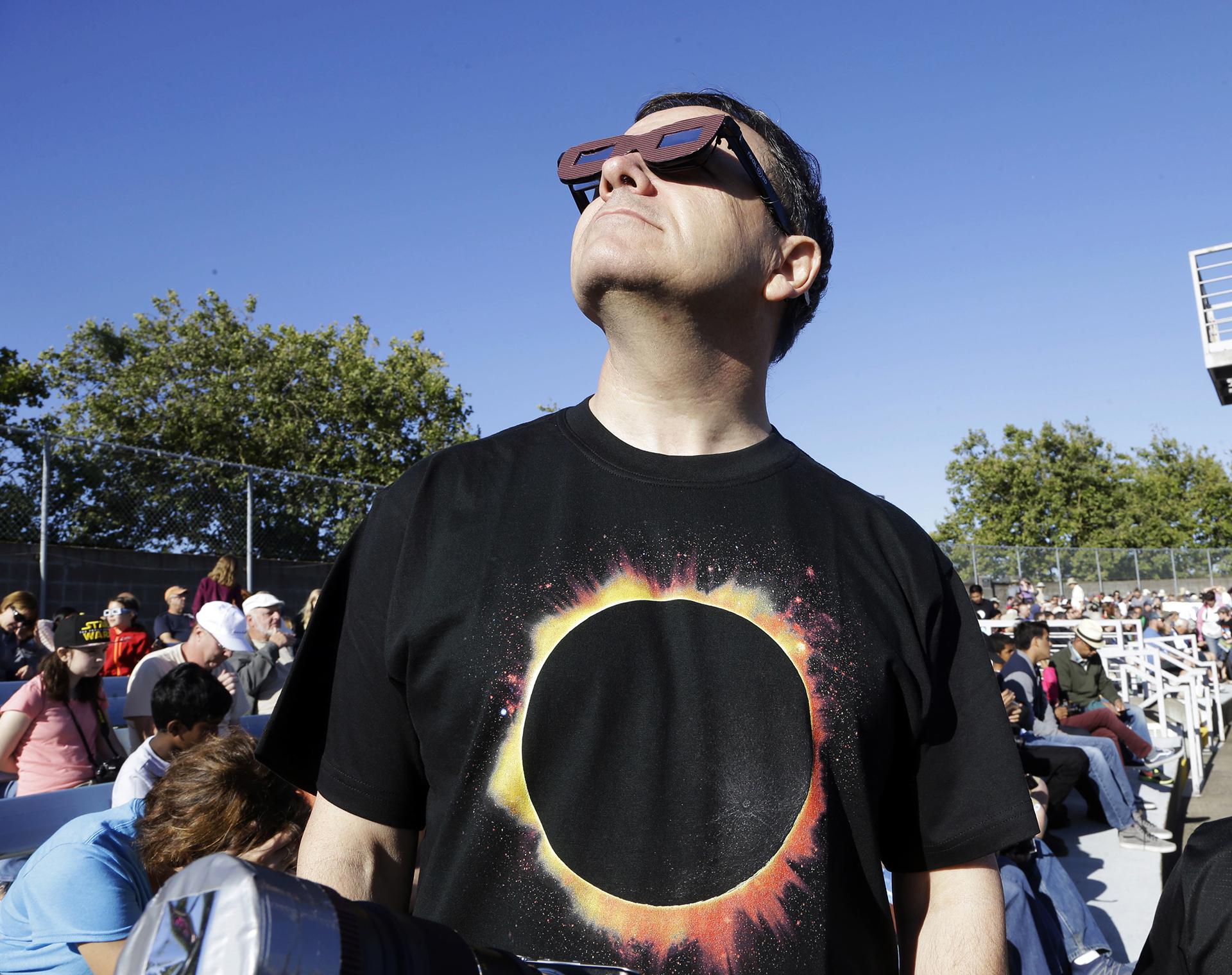 Fotos del eclipse de sol
