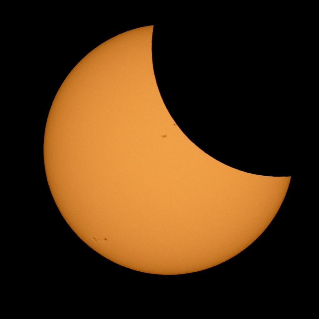 El fenómeno astronómico durará dos horas, pero se ingresará en su totalidad por casi 3 minutos (AP)