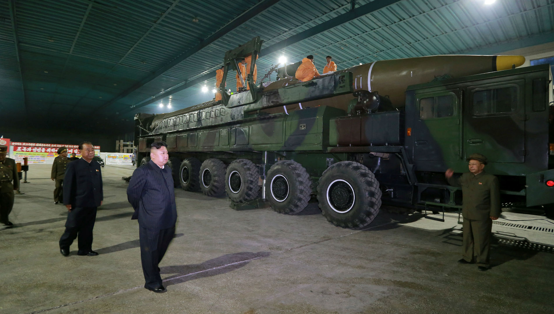 Kim Jong-un demostró su capacidad nuclear a diputados rusos