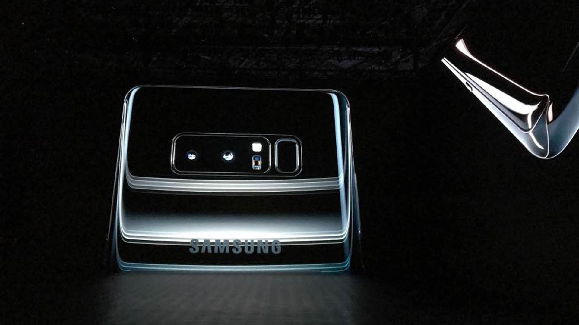 La doble cámara del Galaxy Note 8 de Samsung