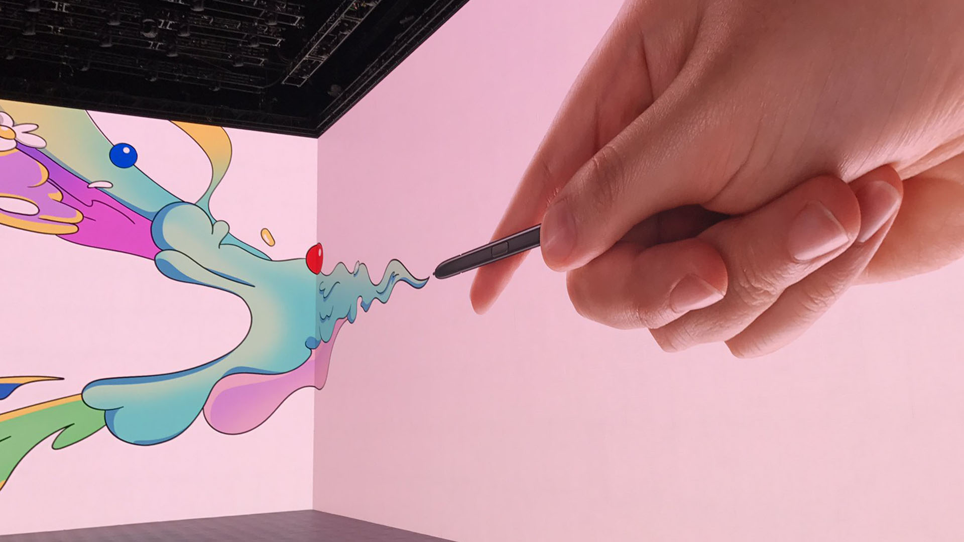 El lápiz digital del Galaxy Note 8, el S-Pen, permitirá a los usuarios dibujar en el dispositivo móvil