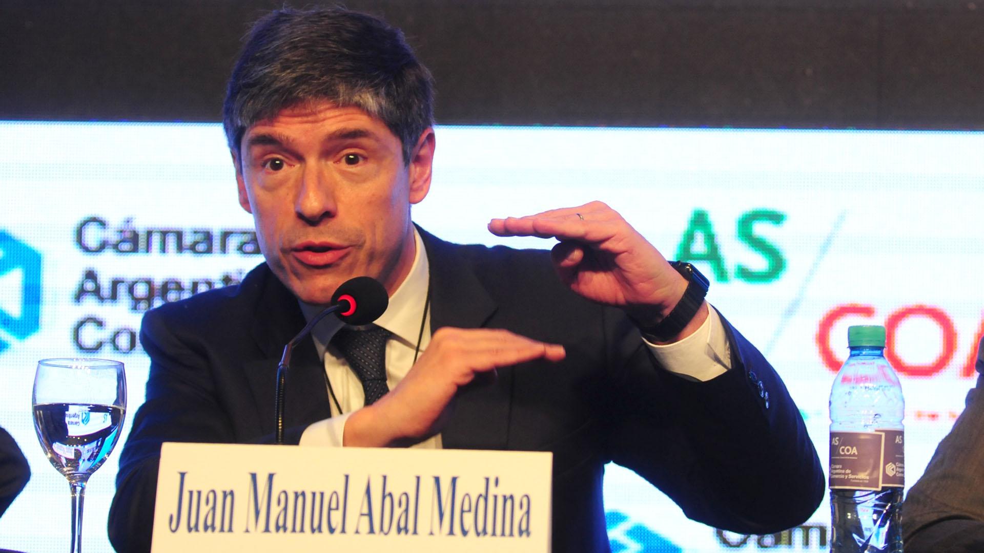 Juan Manuel Abal Medina (Foto: Maxi Luna)