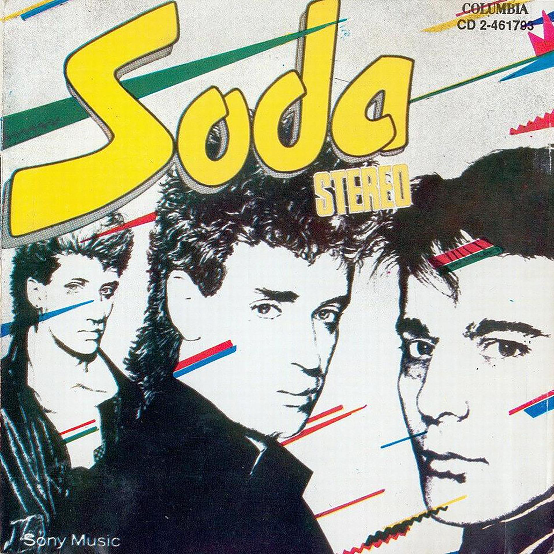 La portada de Soda Stereo (1984)