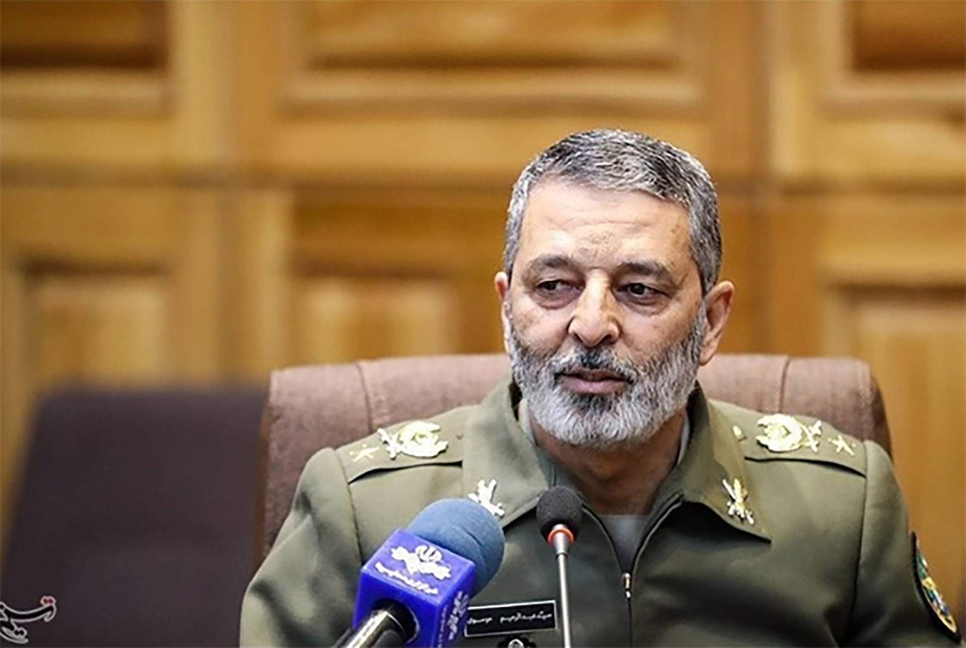 Abdolrahim Mousavi, jefe del ejército iraní (Tasnim)