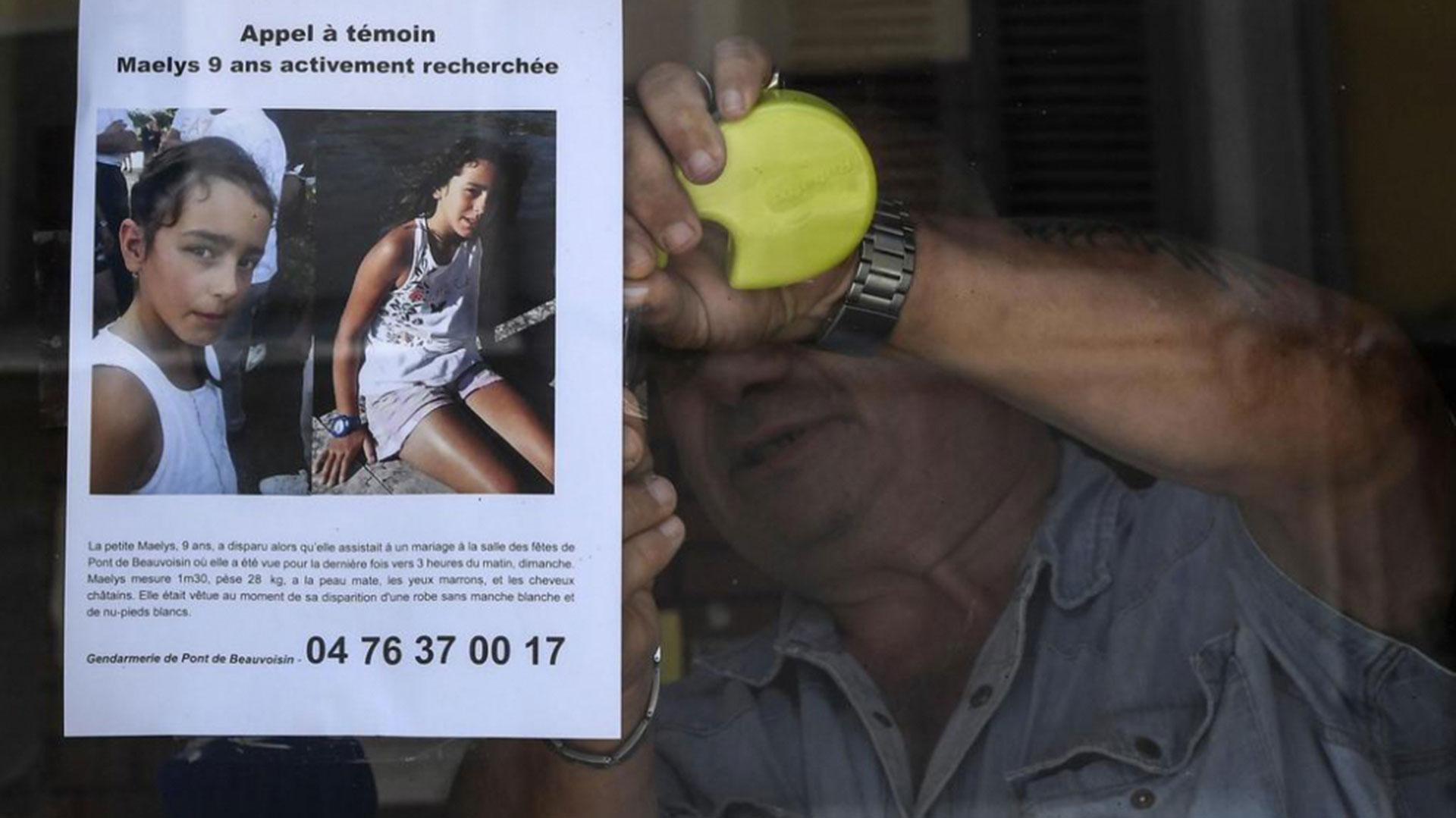 La desaparición de una niña que mantiene en vilo a Francia