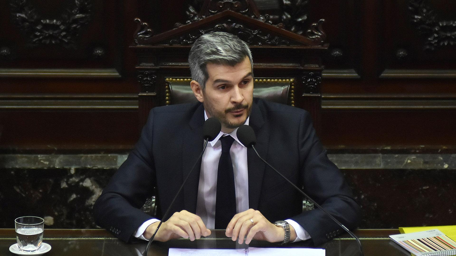 El jefe de Gabinete Marcos Peña