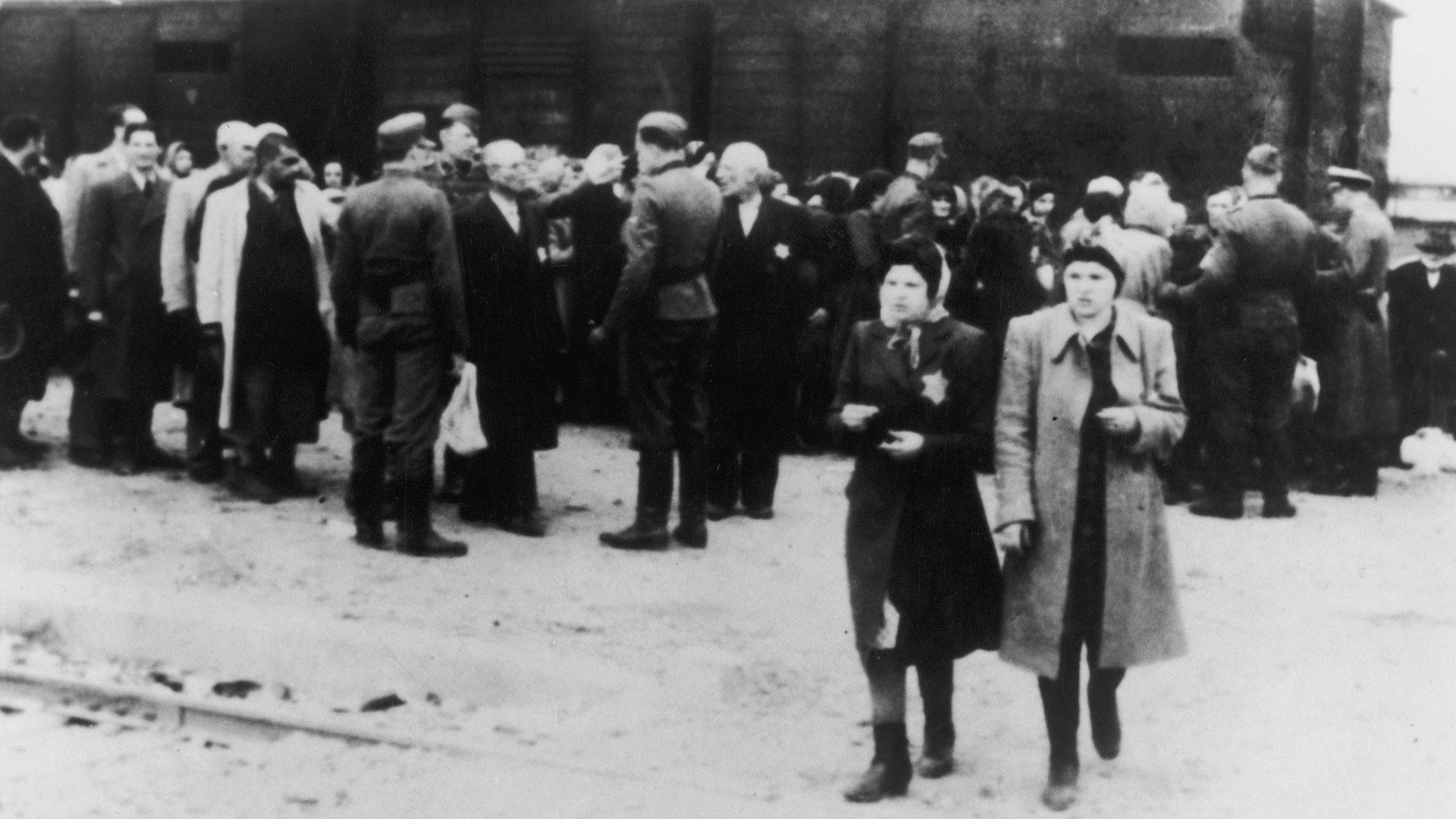 Los campos subalternos de trabajo instalados en el complejo de Auschwitz estaban relacionados con la industria alemana, principalmente en las áreas militares, metalúrgicas y mineras. (Getty Images)