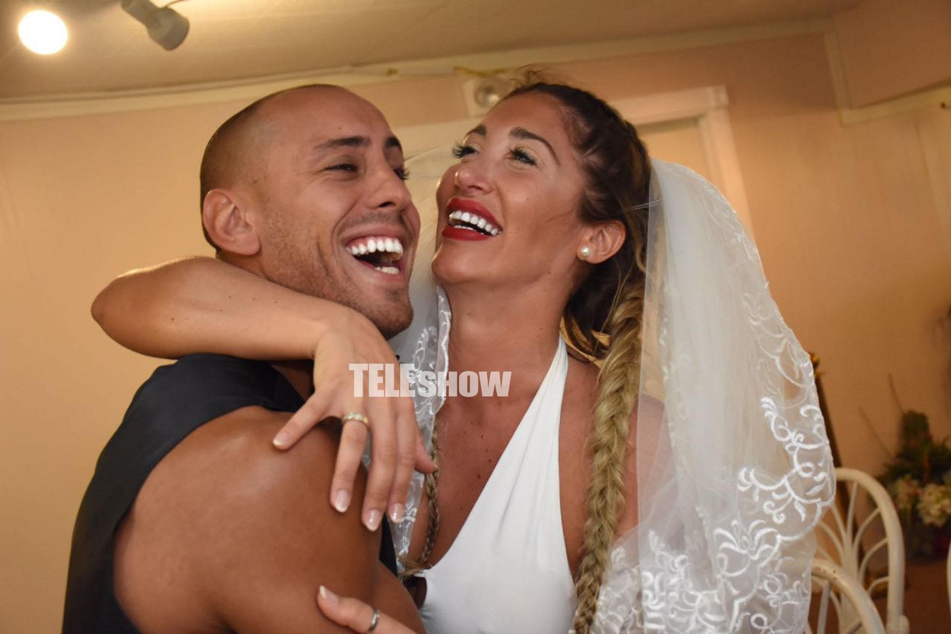 Ayelén Paleo se casó en Las Vegas con su novio, Santiago De Luca