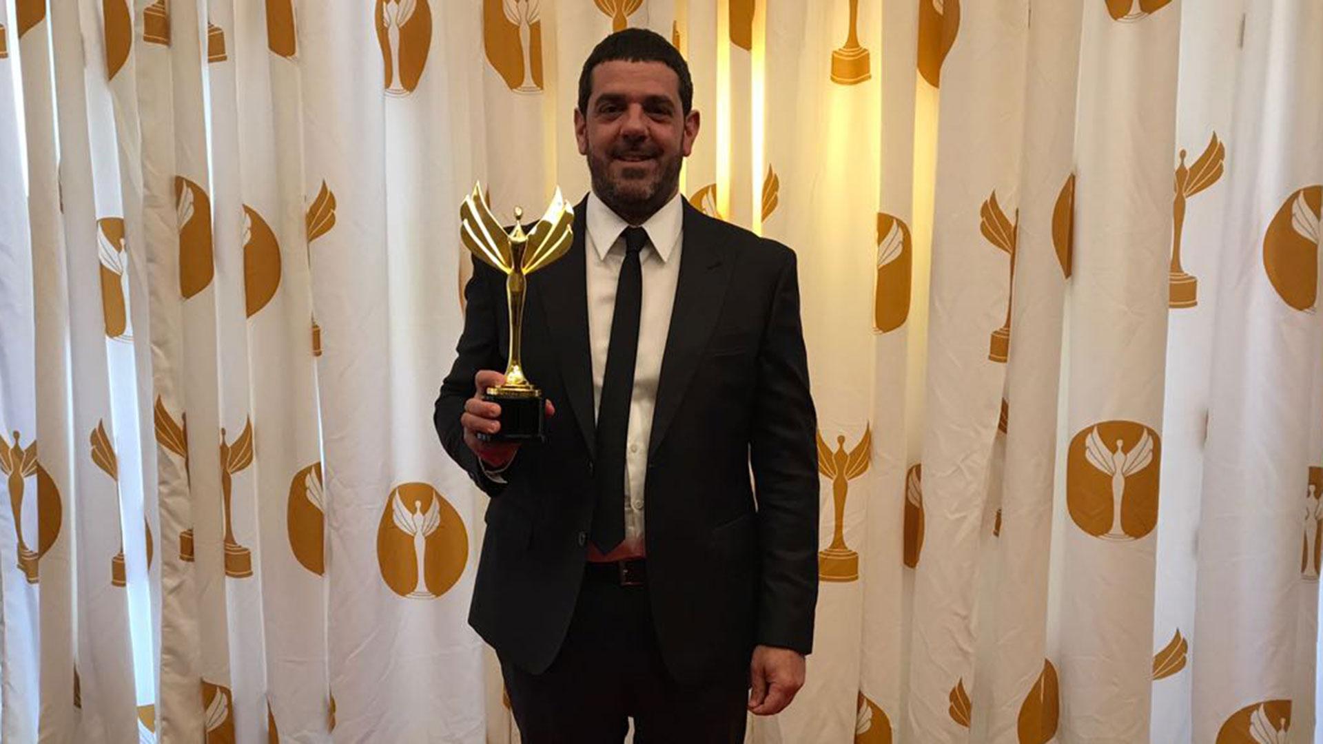 El consultor político argentino Gonzalo Arias fue destacado en una prestigiosa premiación en EEUU