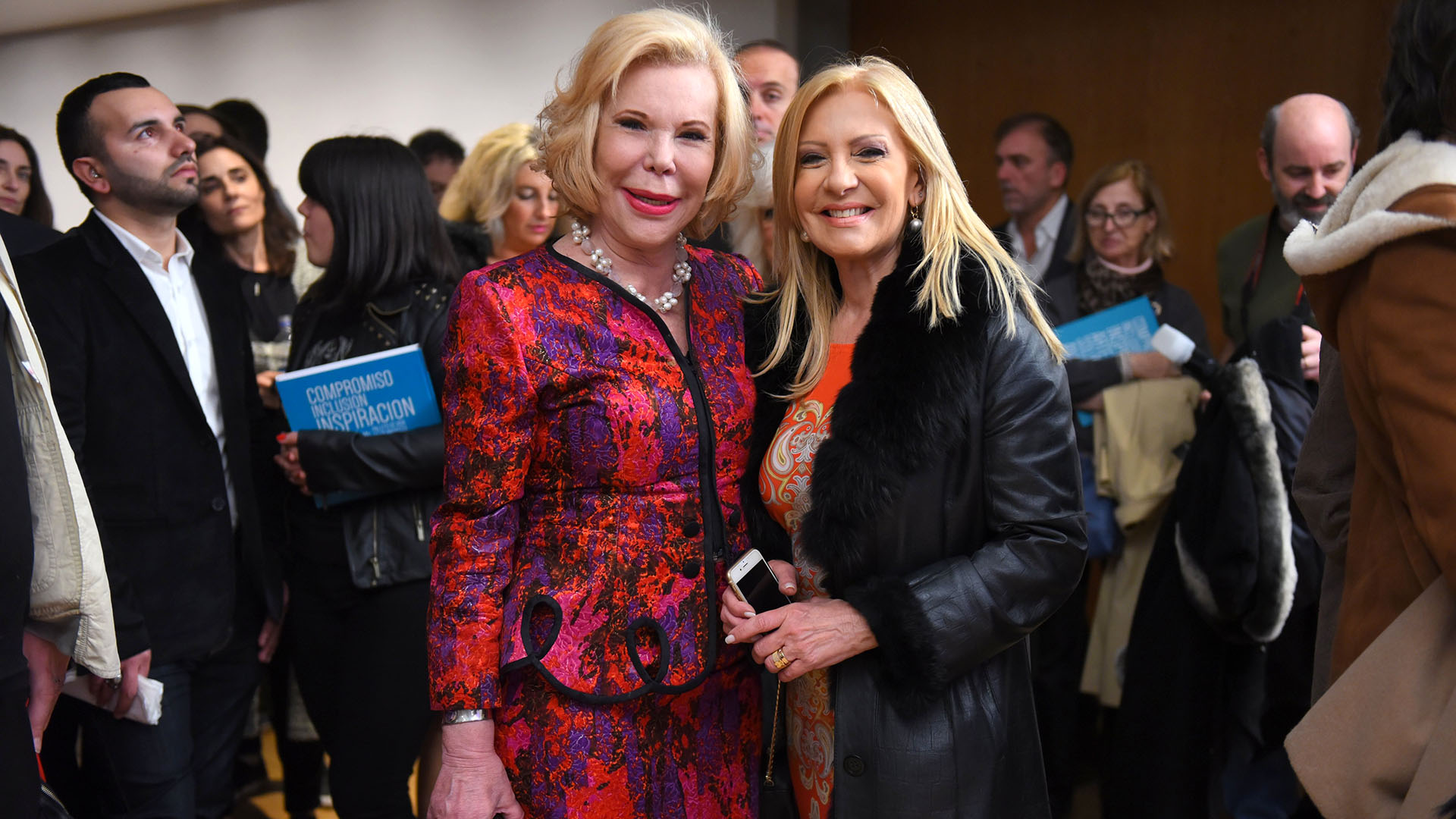 Marina Dodero y Susana Roccasalvo