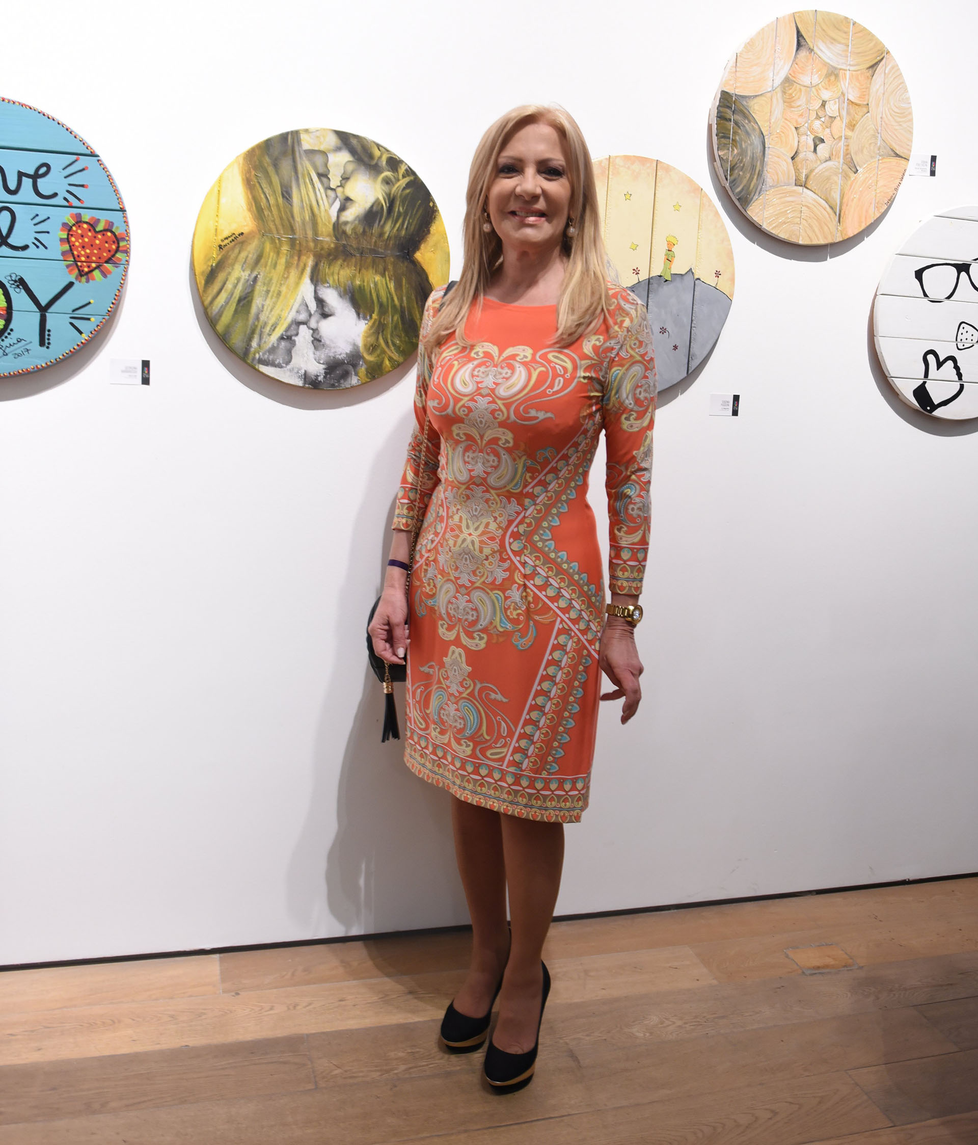 Susana Roccasalvo. La totalidad de las obras serán subastadas online, en el marco de la exhibición en el Museo Fortabat