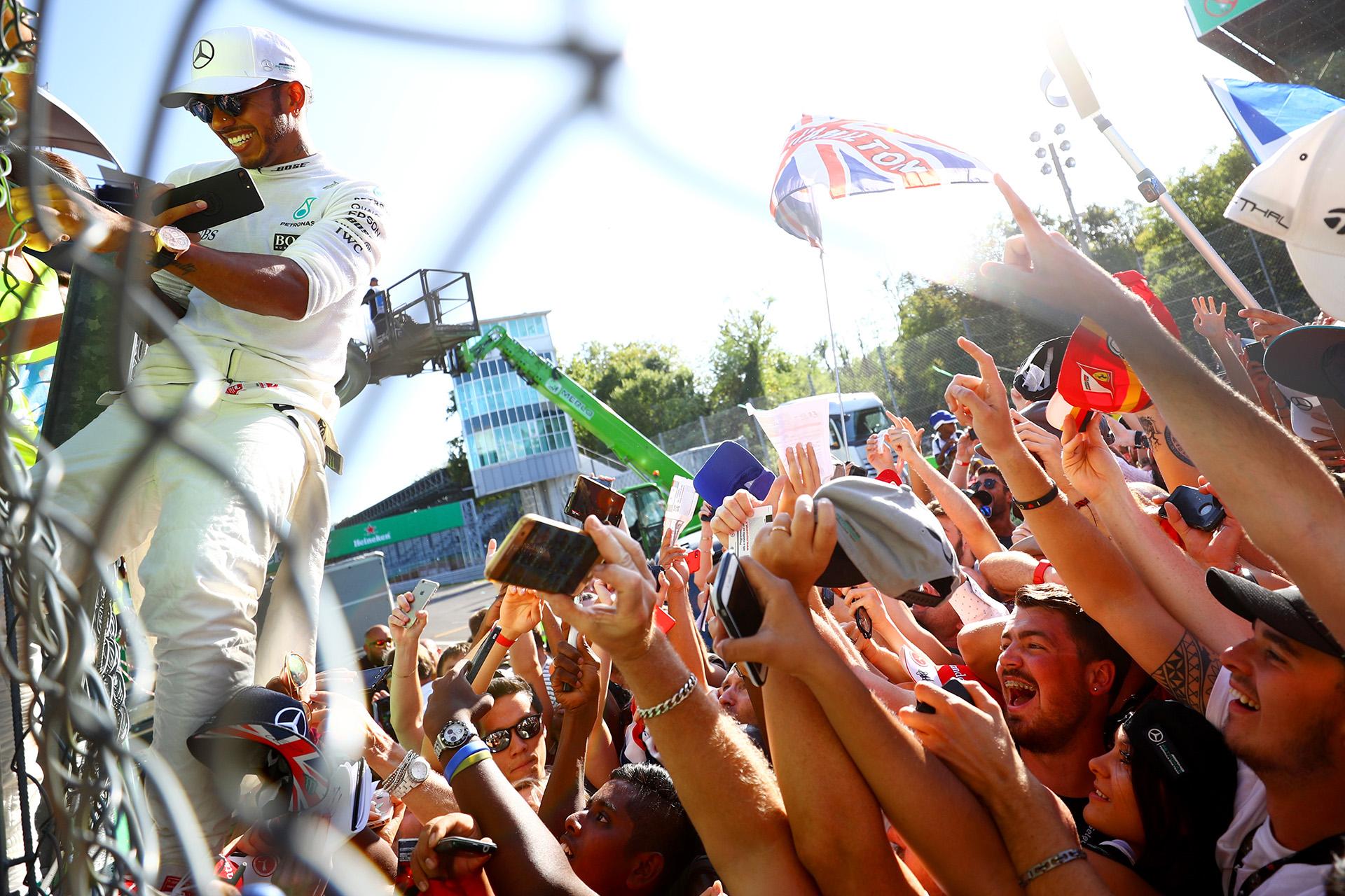 Hamilton encabeza ahora el Mundial con 238 puntos