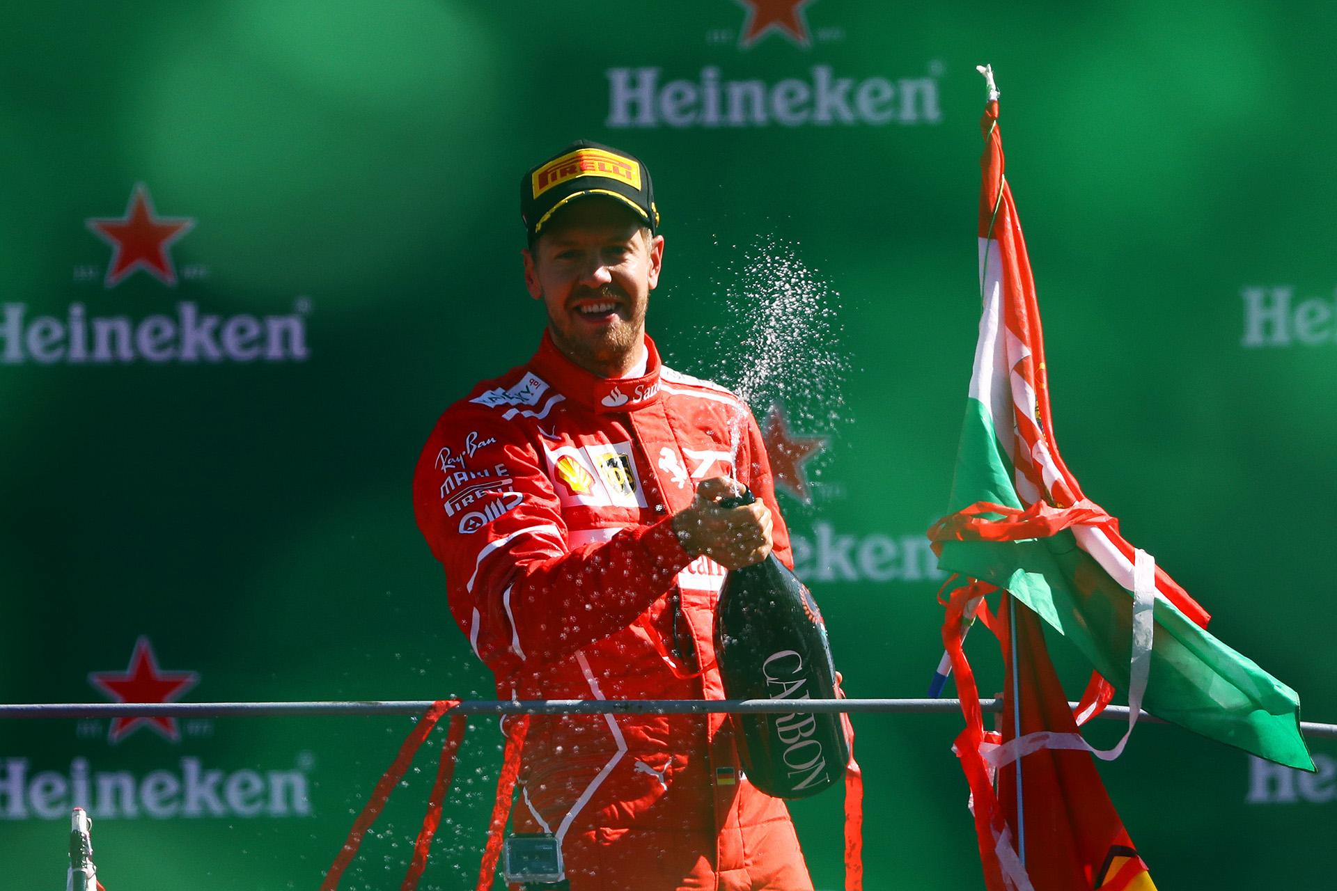 Sebastian Vettel, impactado con el público de Ferrari
