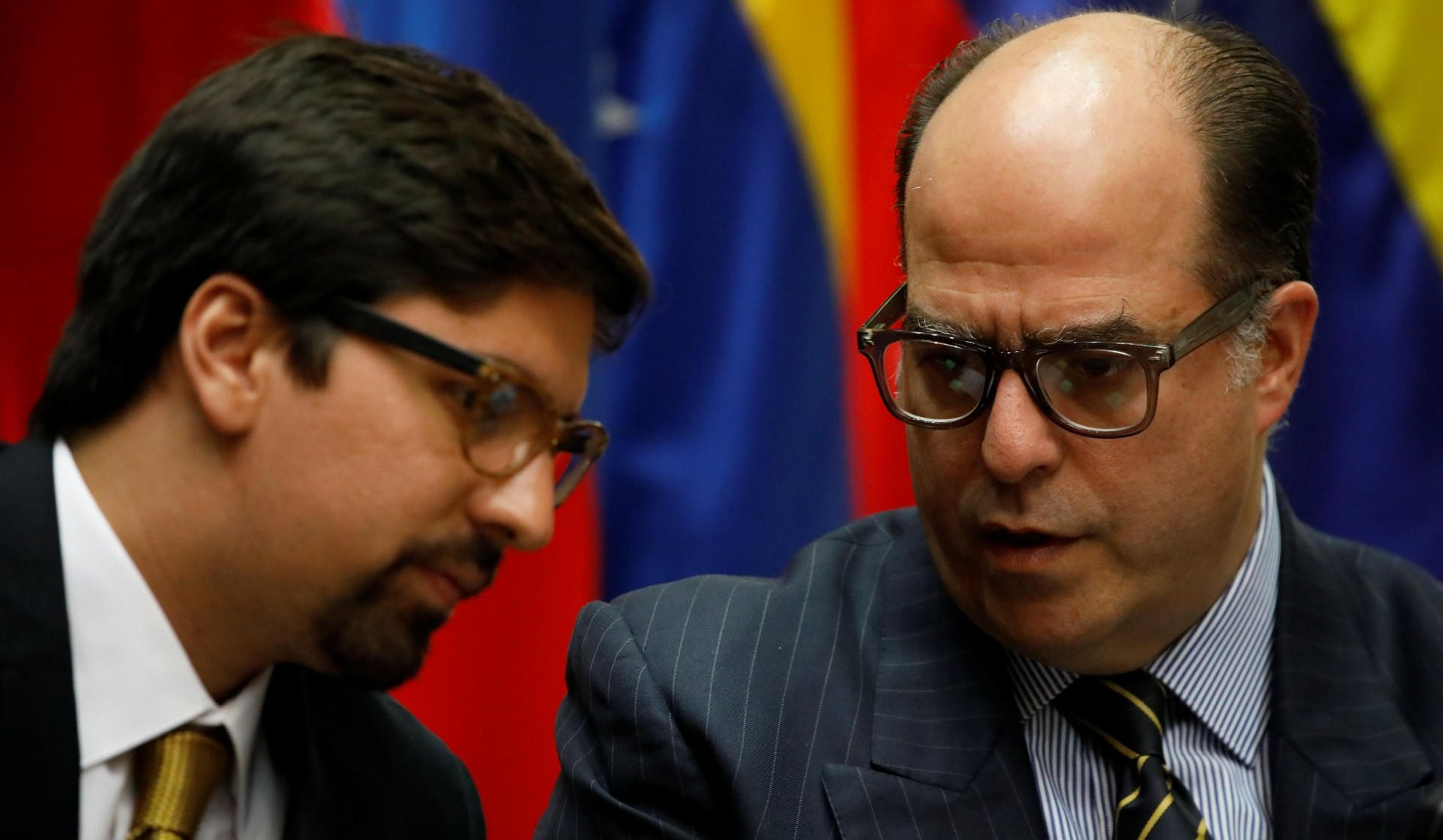 Julio Borges y Freddy Guevara se renirán con importantes mandatarios europeos (Reuters)