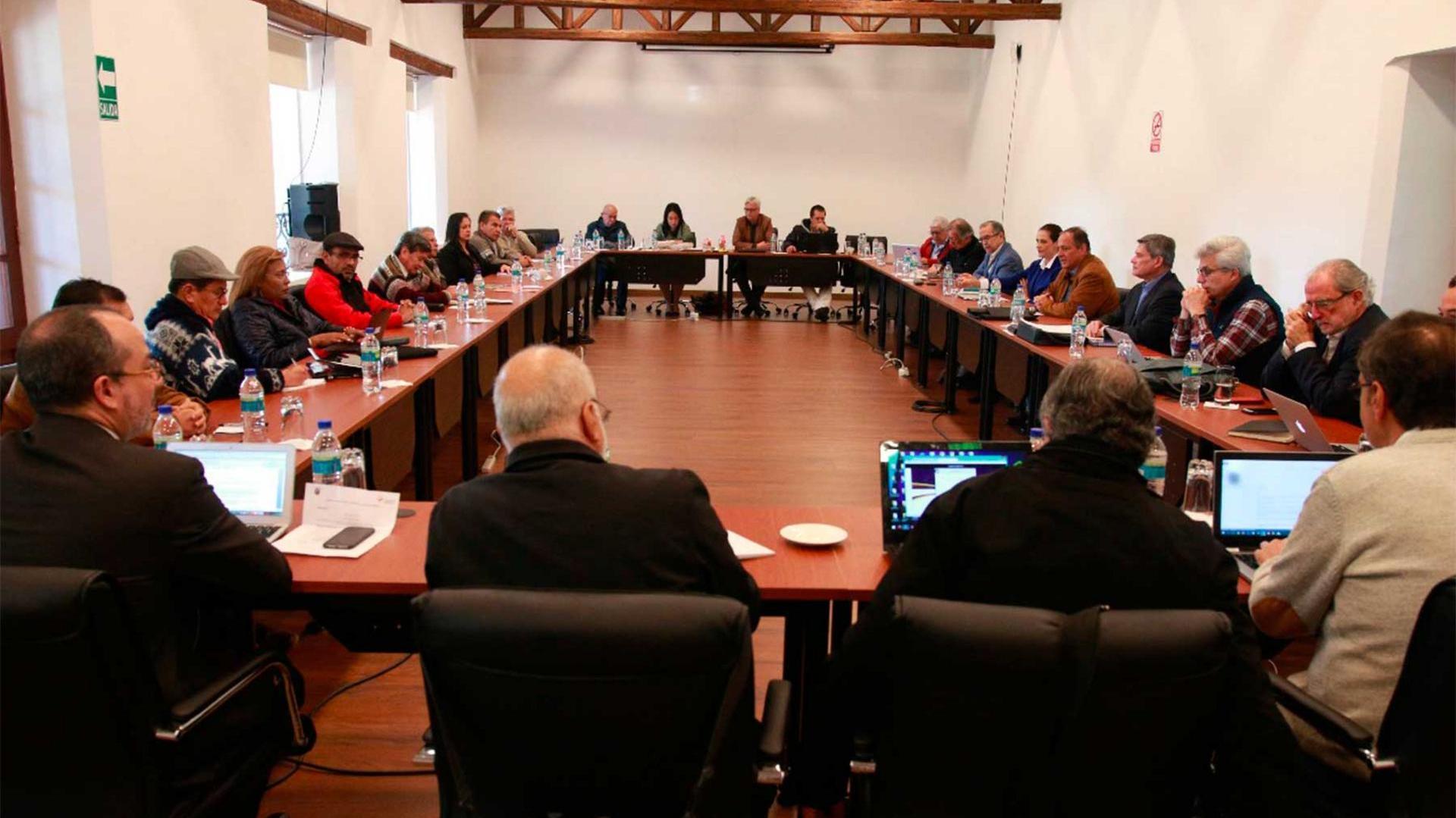 Mesa de diálogos entre el gobierno y el ELN