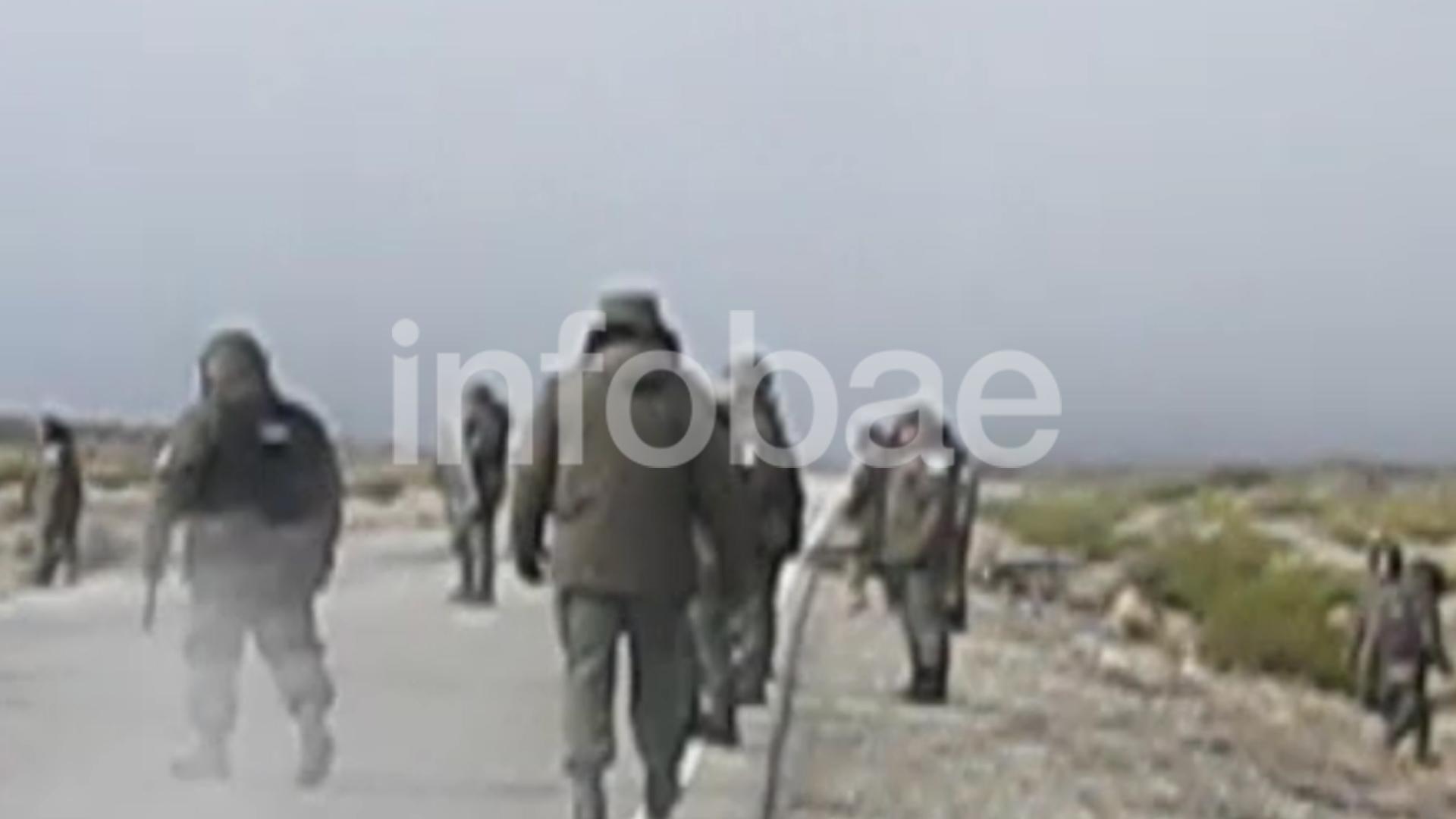 Gendarmería, durante el operativo del 1° de agosto