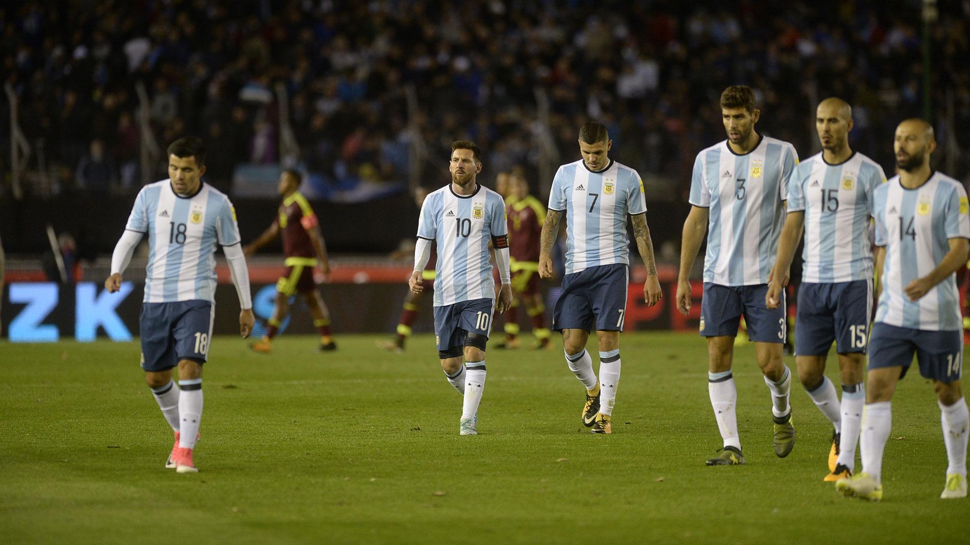El partido contra Perú en el Monumental de la próxima fecha será trascendental (DyN)