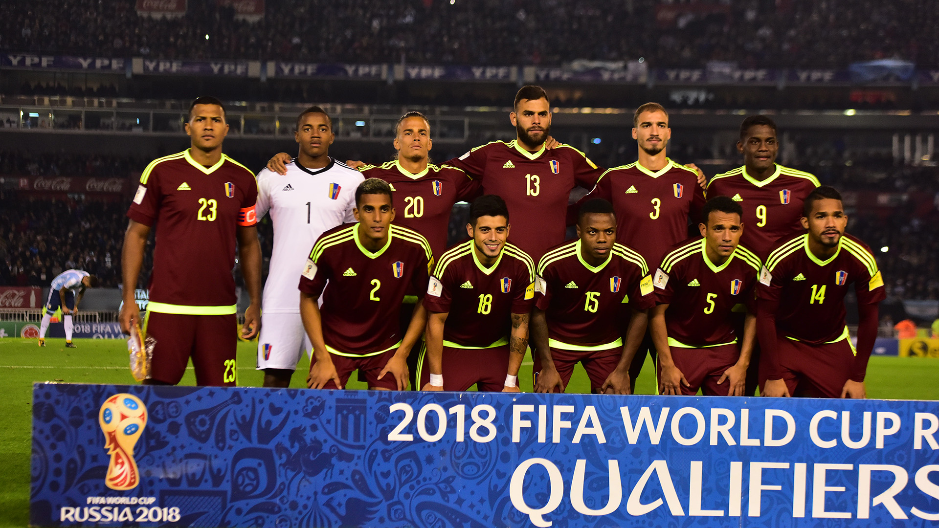 El equipo de Venezuela se hizo fuerte en el Monumental y logró un punto histórico