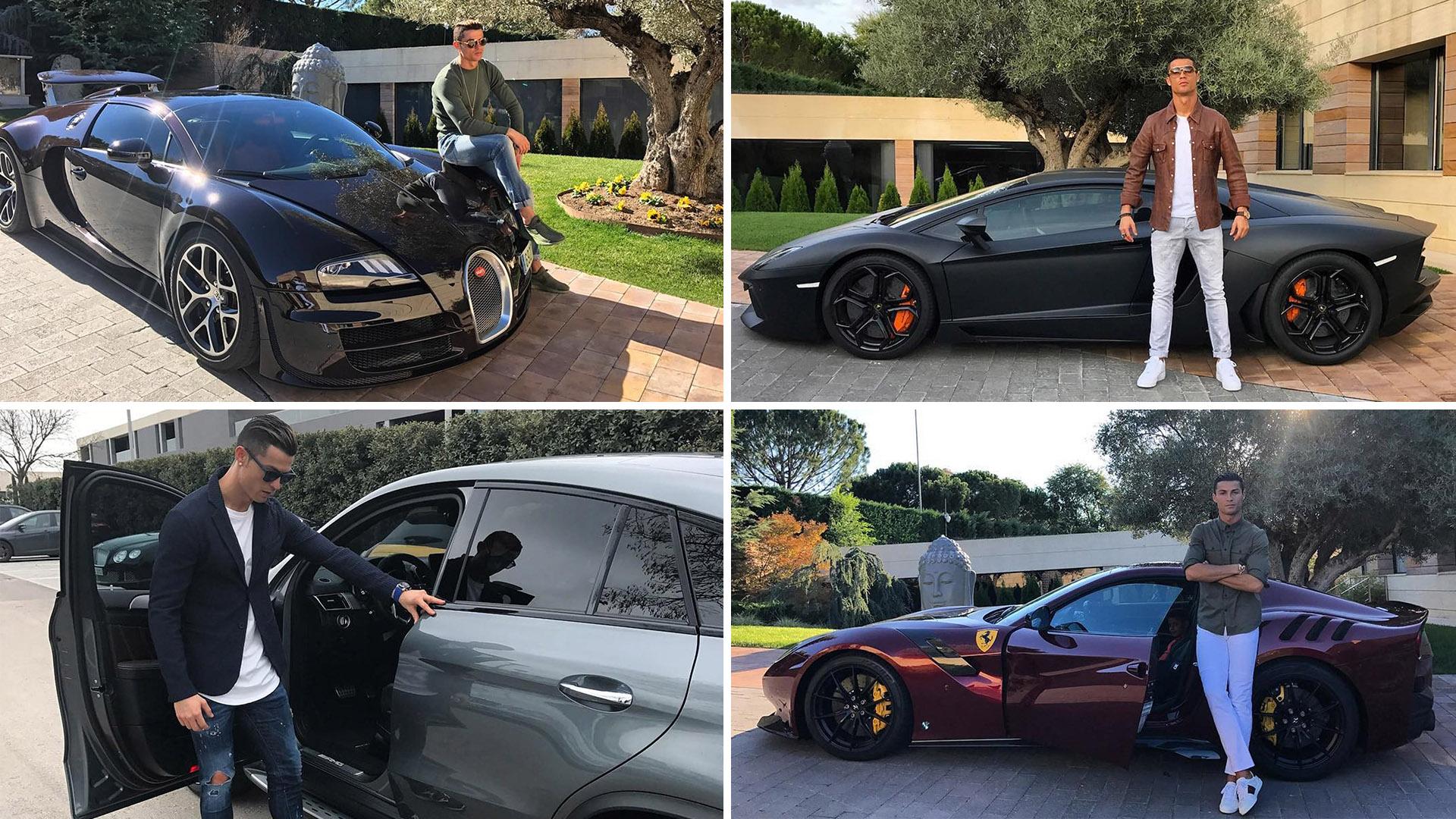 Así es la millonaria colección de coches de Cristiano Ronaldo - Infobae ce09ae156aedc