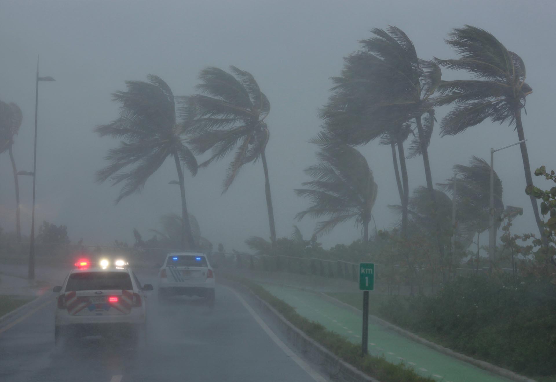 La tormenta en San Juan, Puerto Rico(REUTERS/Alvin Baez)