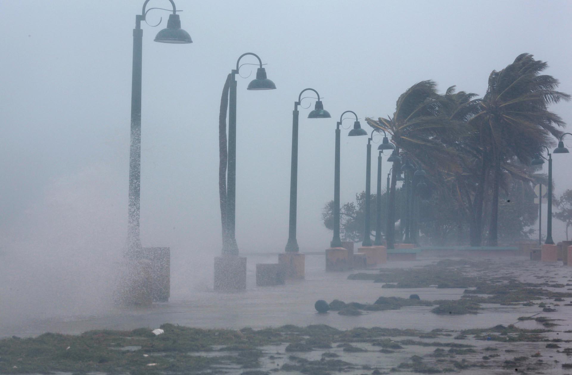El huracán ya hizo estragos en el Caribe